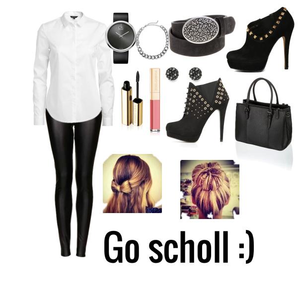 Go scholl :)