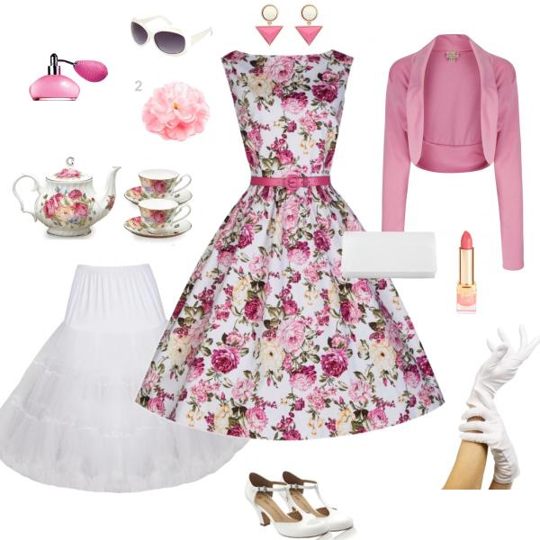 tea picnic dress