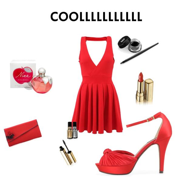 cool červená