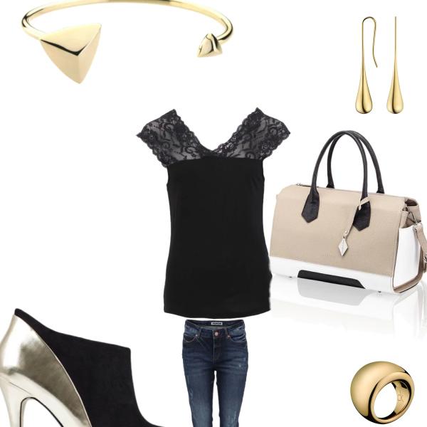 černá elegance