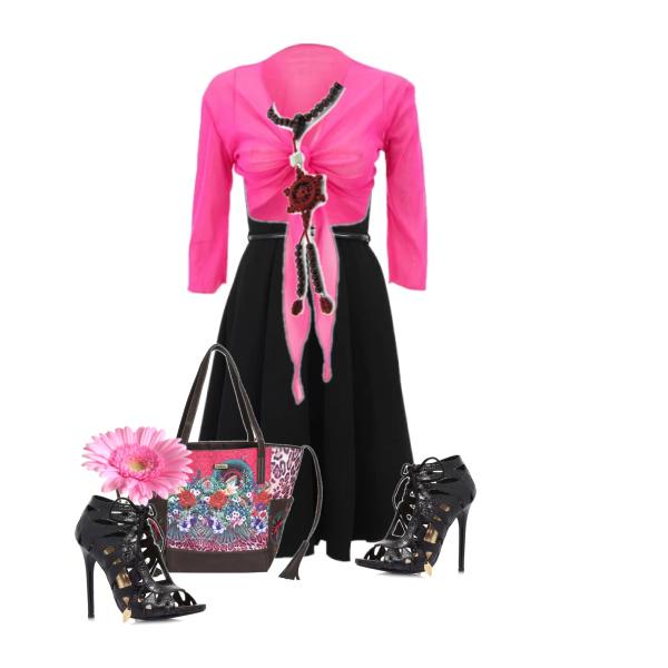 Šaty s kalelkou