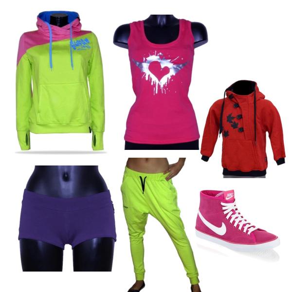 Set pro holky s Nike botama