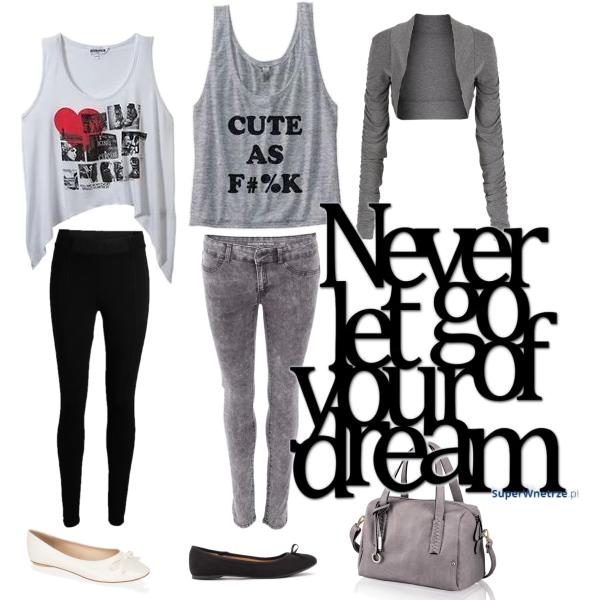 Never let go you dream