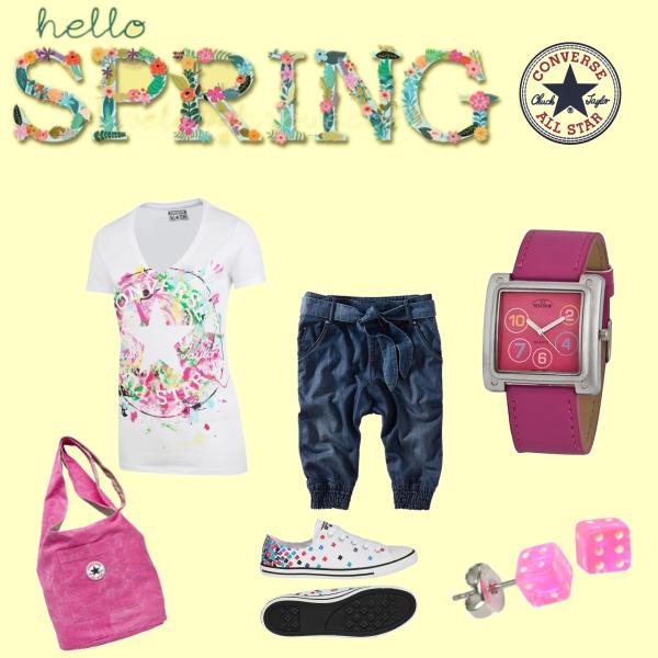 Converse hello spring!