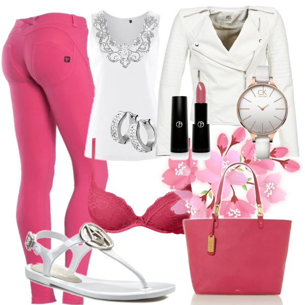 Jarní růžový set :)