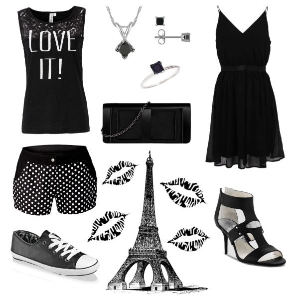black-white set