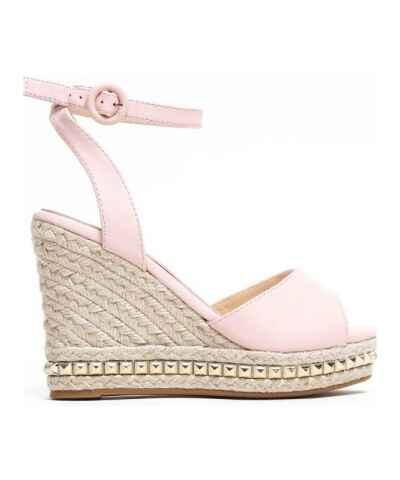 Růžové letní dámské boty se slevou 20 % a více na klínu - Glami.cz 2fe9fc3a74