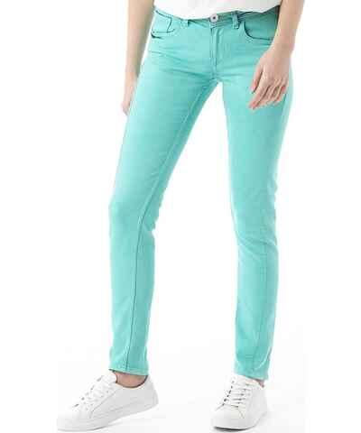 gr ne jeans f r damen