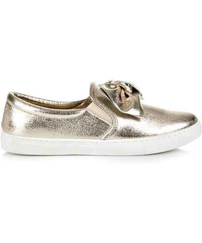 Zlaté dámské boty  c326be27f4