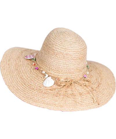 Hnědé slaměný dámské klobouky - Glami.cz c492dfdc81