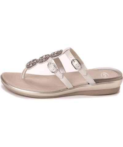 Scholl bílé letní dámské boty - Glami.cz 832ce0f743
