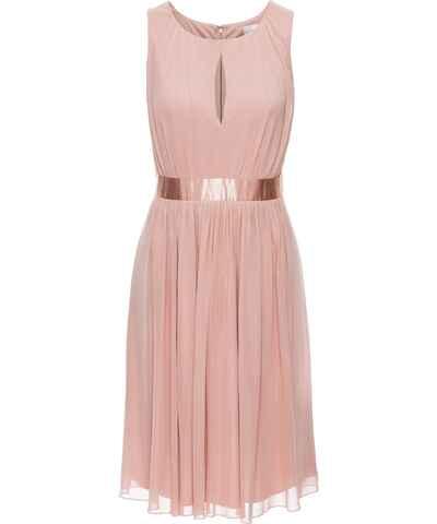 Růžové společenské šaty bez rukávů - Glami.cz 73bbc9677a