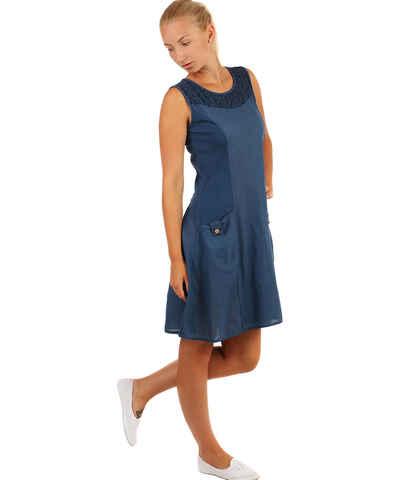 Tmavě modré plážové šaty z obchodu YooY.cz - Glami.cz 72eb2286a9