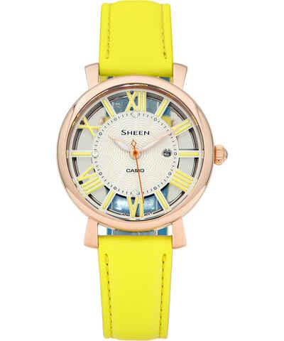 Casio žluté dámské hodinky - Glami.cz c840b54420