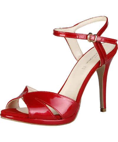 Červené dámské sandály z obchodu FashionSoul.cz - Glami.cz 30238ae73b
