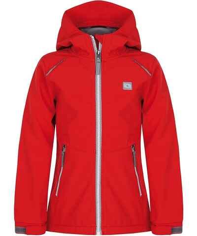 Červené Dámske bundy a kabáty  29bdaf86cac
