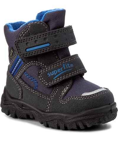 Superfit černé dětské boty s dopravou zdarma - Glami.cz d568db413e