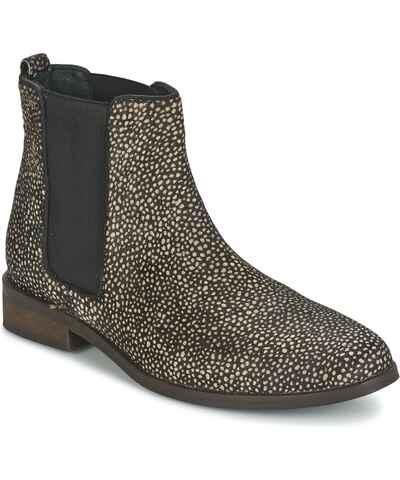 Černobílá zimní chelsea boots - Glami.cz fe340ca00d