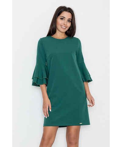 Zelené Šaty s volánmi - Glami.sk 1f04c049038