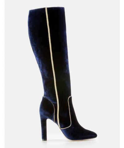Shetland Kniehohe Stiefel Black Damen Boden 40 x2mFV