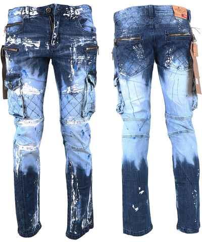 Tmavě modré pánské kalhoty z obchodu DG-Shop.cz - Glami.cz 075bfdb3ea