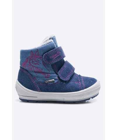 Modré gore-tex dívčí boty - Glami.cz 1f2eb9cb65