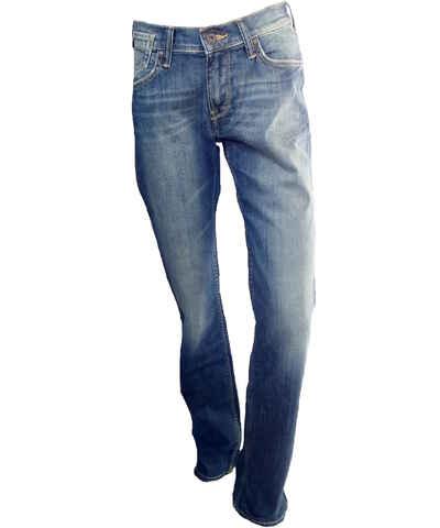 Světle modrá dámské džíny  518529657f