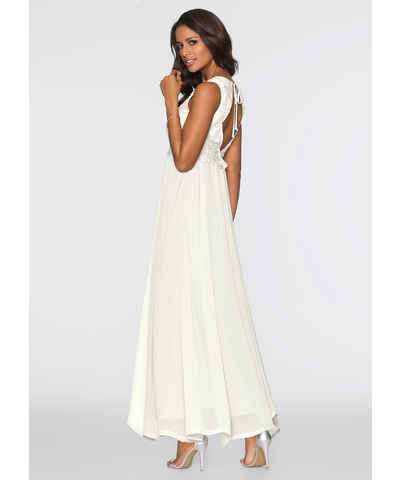 ba833598532 Bílé letní dlouhé šaty - Glami.cz