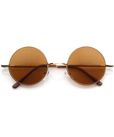 9820f936e Zlaté Dámske slnečné okuliare z obchodu Letnyhit.sk - Glami.sk
