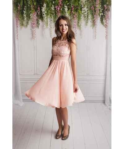 Růžové šaty pro družičky z obchodu PrimaButik.cz - Glami.cz 9d62479da0