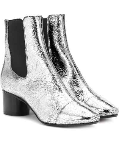 silber chelsea boots f r damen. Black Bedroom Furniture Sets. Home Design Ideas