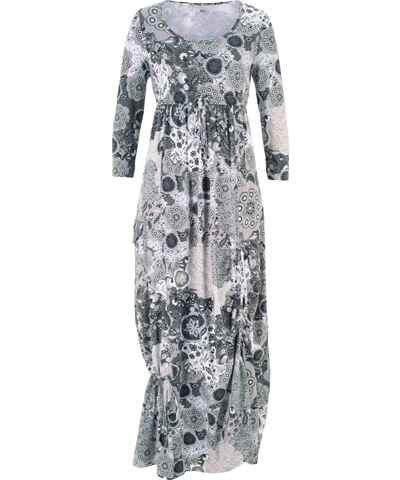 Šedé pletené a úpletové šaty s dlouhým rukávem - Glami.cz 5bd8d38127