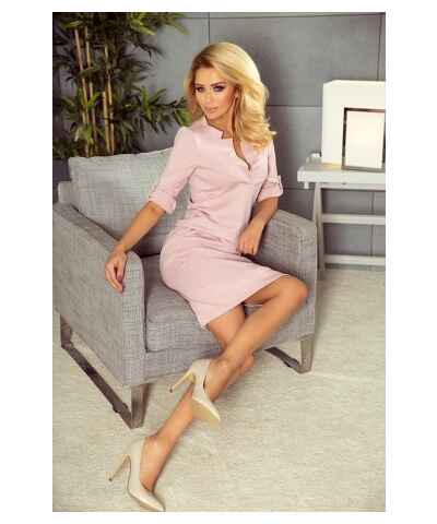Světle hnědé šaty z obchodu Alltex-Fashion.cz - Glami.cz a45f9b7456