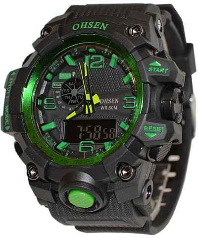 Ohsen sportovní pánské hodinky - Glami.cz 29a203f979