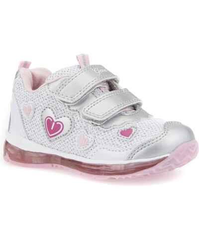 Geox stříbrná dívčí boty - Glami.cz bfc09899a1
