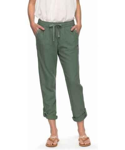 7d2679662050 Khaki dámské kalhoty