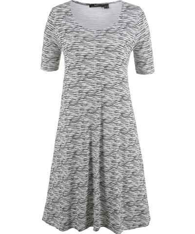 a176aadee28 Černobílá krátké šaty s krátkým rukávem - Glami.cz
