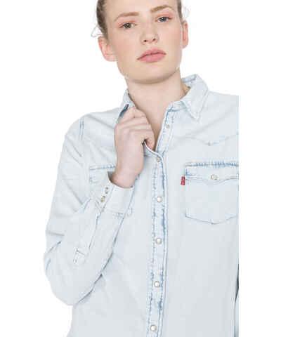 808dc4912ec Světle modrá džínové dámské košile - Glami.cz
