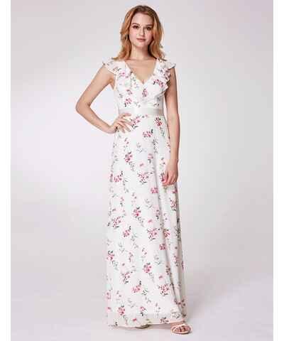 Květované dlouhé šaty pro družičky - Glami.cz fb0206f5cb