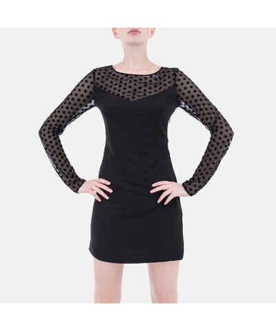 1209fa8d5be8 Malé černé šaty z obchodu Ermio.cz - Glami.cz
