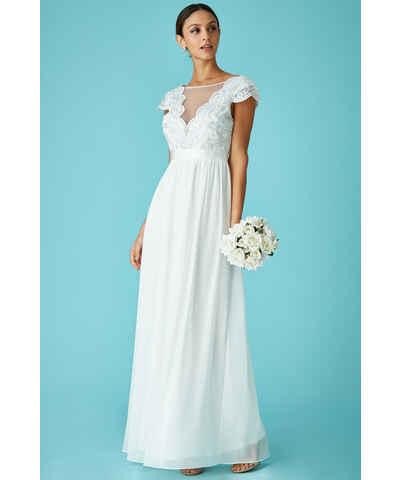 Bílé šaty z obchodu PrimaButik.cz - Glami.cz 88e2a68126