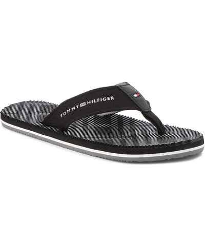 Tommy Hilfiger černé pánské pantofle a žabky - Glami.cz f16e1553d01