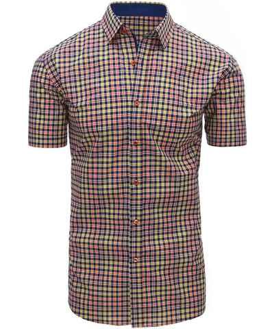 Žluté pánské košile se vzorem - Glami.cz a50aa07070