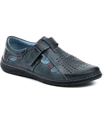 069bf71cef42 Tmavo modré Pánske topánky z obchodu Arno-obuv.sk