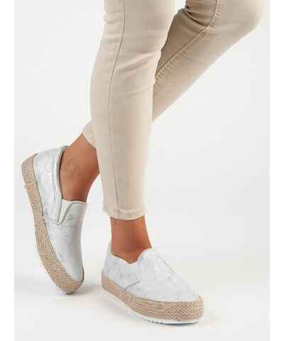 658214a72b6d Stříbrná dámské boty
