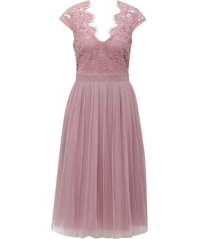 Little Mistress růžové šaty pro družičky - Glami.cz 0ceb1f0f9c