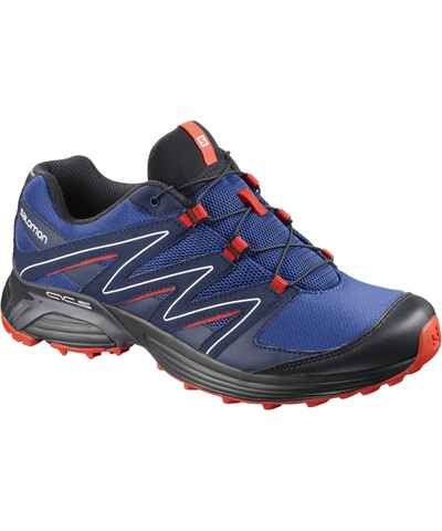 Modré pánské outdoorové boty - Glami.cz 639bcd9199