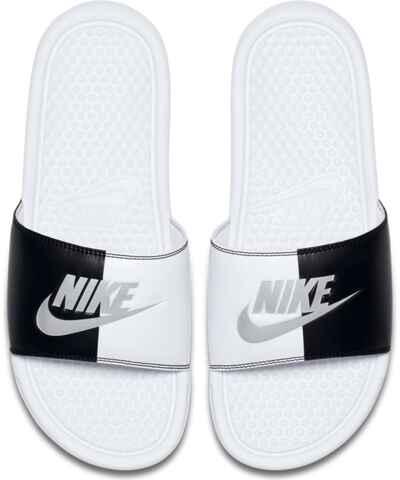 08e5c588bab Bílé dámské pantofle