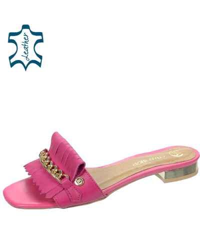 b4c66b68ccec5 Olivia shoes, Ružové Dámske šľapky - Glami.sk