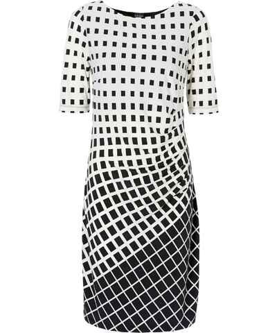 Pletené a úpletové midi šaty s krátkým rukávem - Glami.cz b077e8bda68